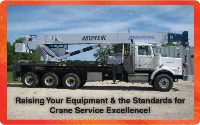 Raising Your Equipment & the Standards for Crane Service Excellence! - Boom truck